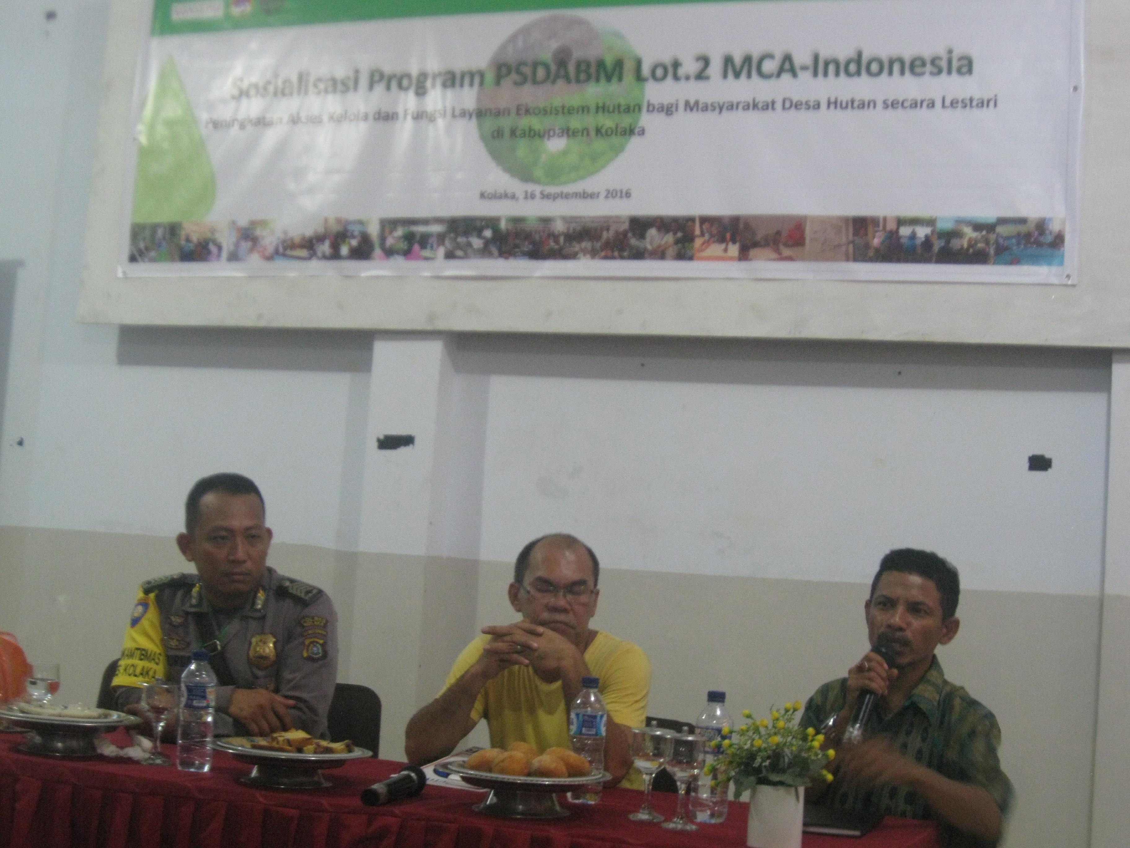 Laode Mangki Korwil PSDABM di Sakuli Kolaka Sulawesi Tenggara