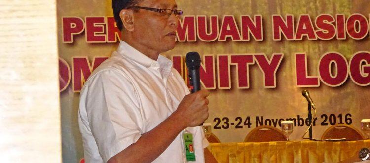 Drs. Suwanto,MM, dari Badan Layanan Umum Pusat Pembiayaan Pembangunan Hutan (BLU Pusat P2H)