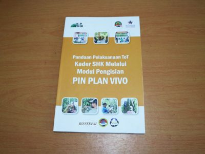 Modul Panduan Pelaksanaan ToT Kader SHK Melalui Modul Pengisian PIN Plan Vivo