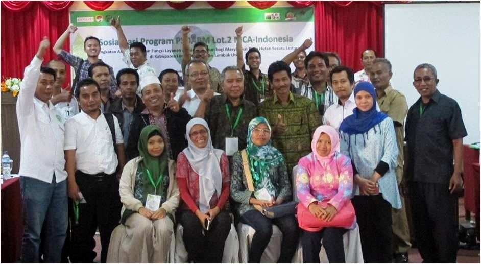 Sosialisasai Program PSDABM di Lombok, 21 September 2016