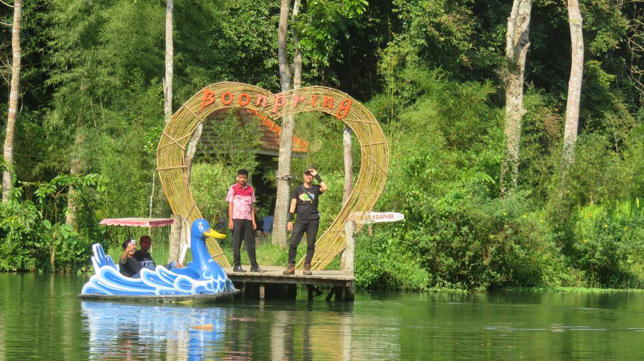 "Potensi Usulan IPHPS untuk Pemanfaatan Ekowisata ""Boon Pring"" di Desa Sanankerto Kecamatan Turen Kabupaten Malang (Foto KPSHK, 06/04/2018)"