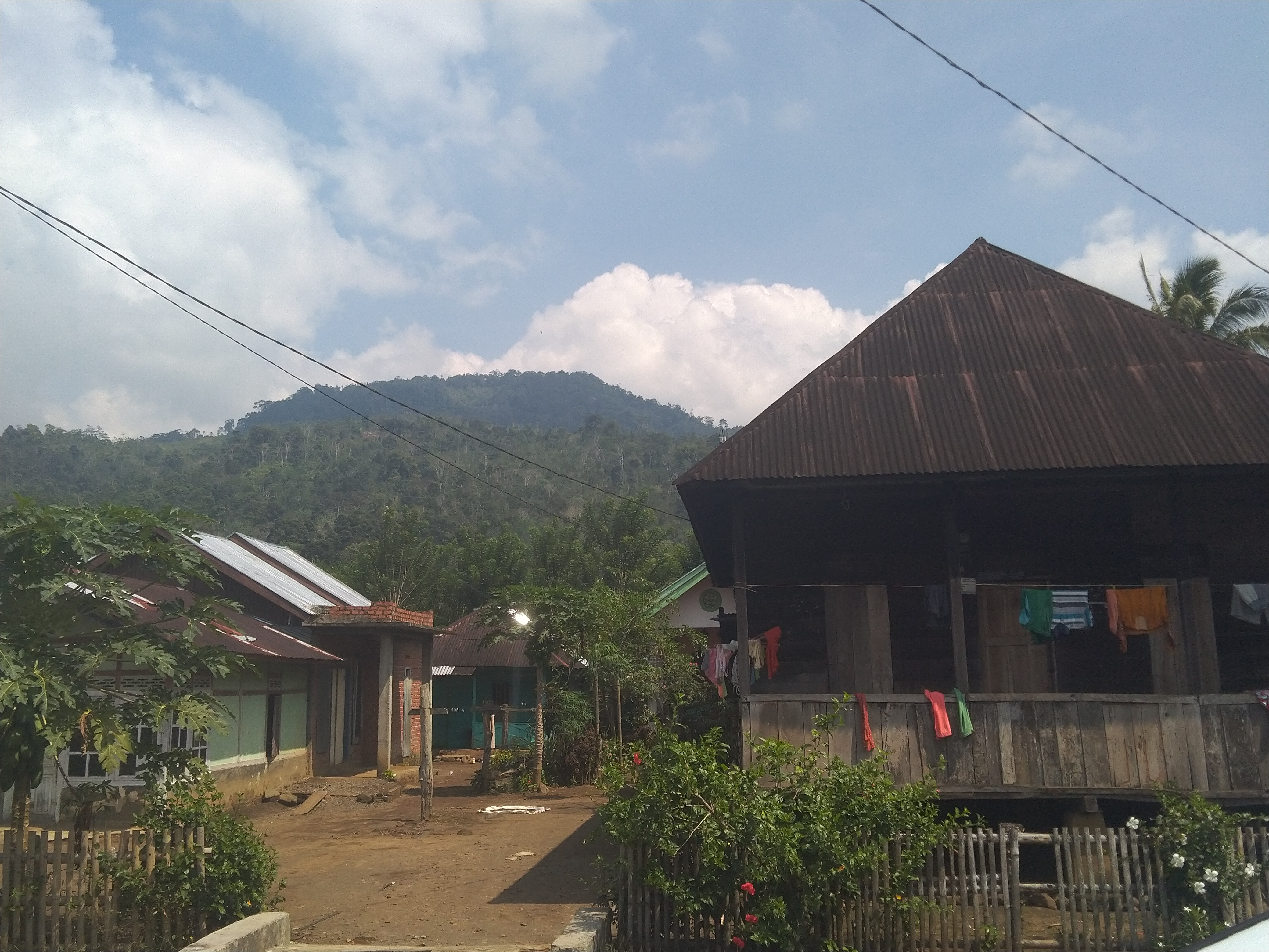 Desa Kelilik di Kepahiang (Foto Kelopak-Bengkulu)