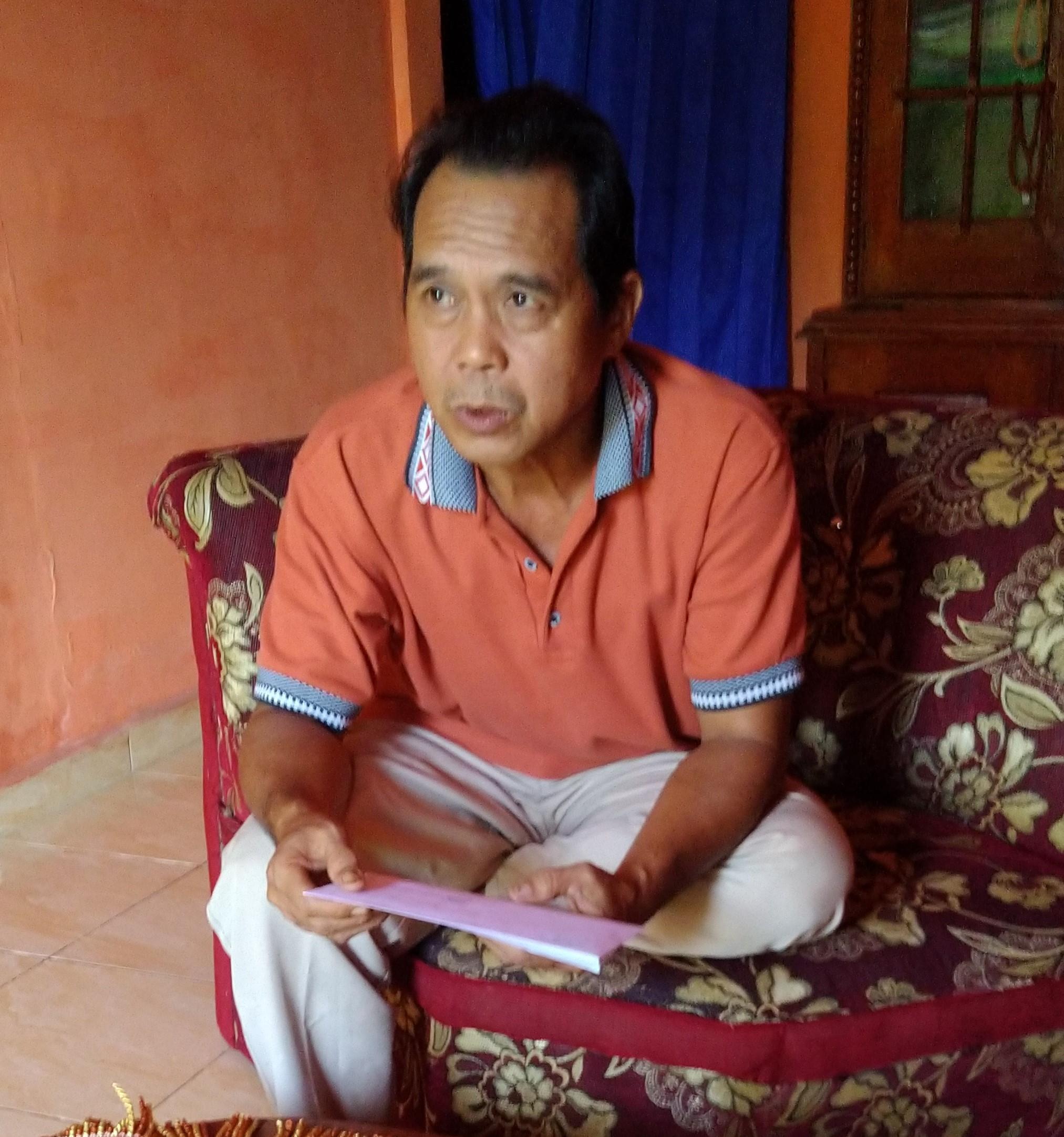 Zen Tokoh Petani Hutan yang Membawa Perubahan Perhutanan Sosial di Kepahiang (Foto Kelopak-Bengkulu)